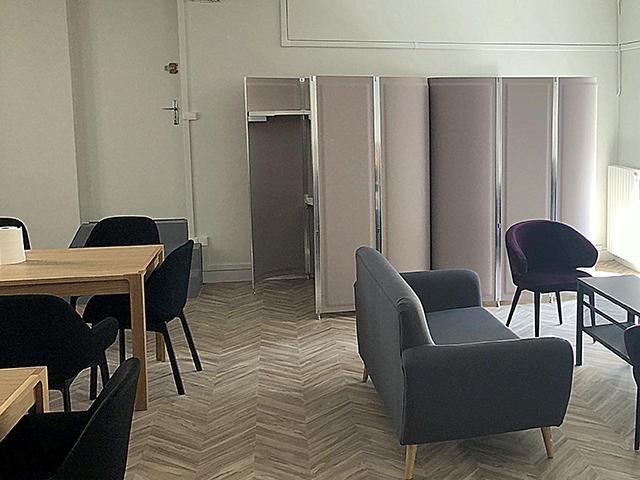 Cabine isolation phonique Mairie du 2ème ardt de Paris
