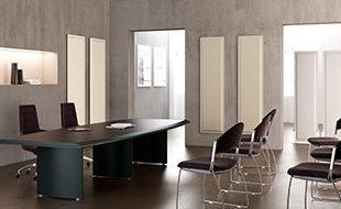 Panneaux acoustiques muraux pour le traitement du bruit au bureau