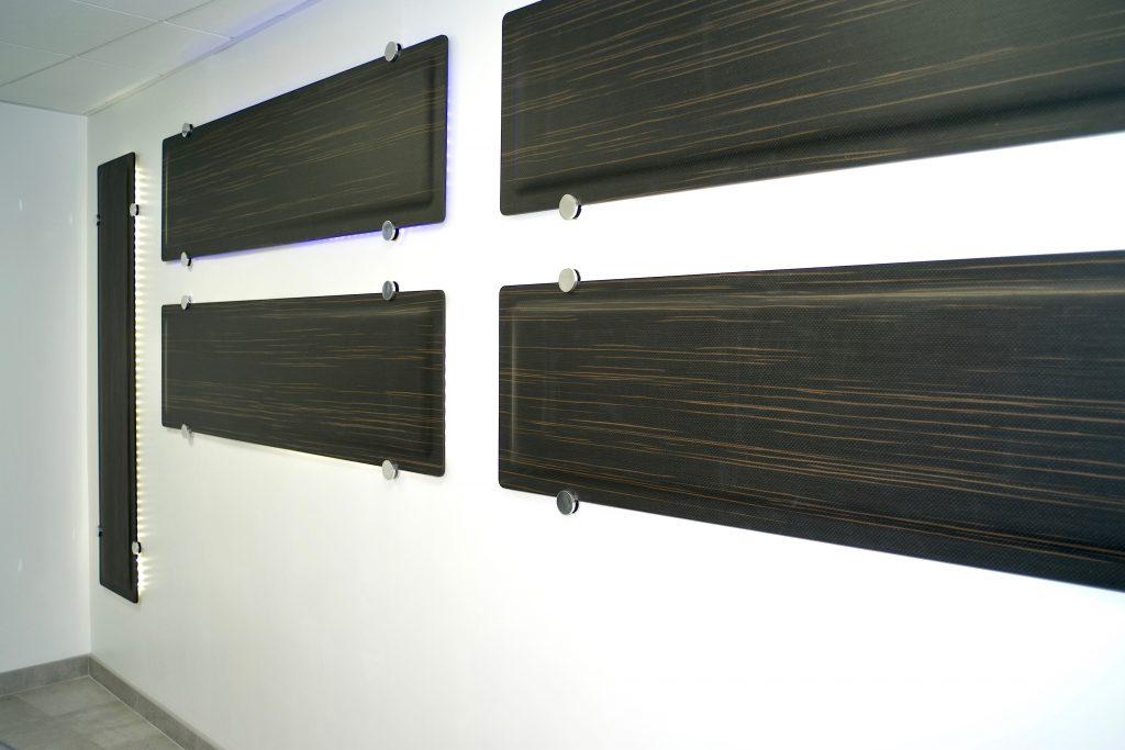 Traitement anti-bruit avec des panneaux Wall DP acoustique dan une salle d'étude à Paris