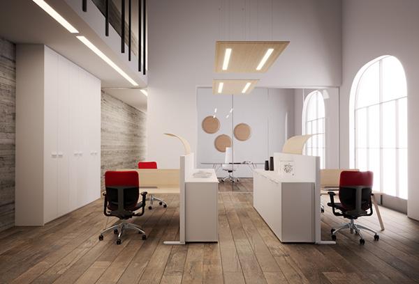 Traitement acoustique plafond et écran phonique rond dp-acoustique