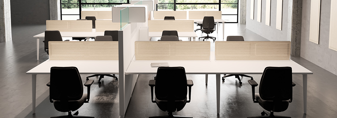 Panneaux acoustiques de séparation Desk System | DP Acoustique