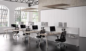Panneaux suspendus acoustiques Roof pour plafond de bureaux, école, restaurant