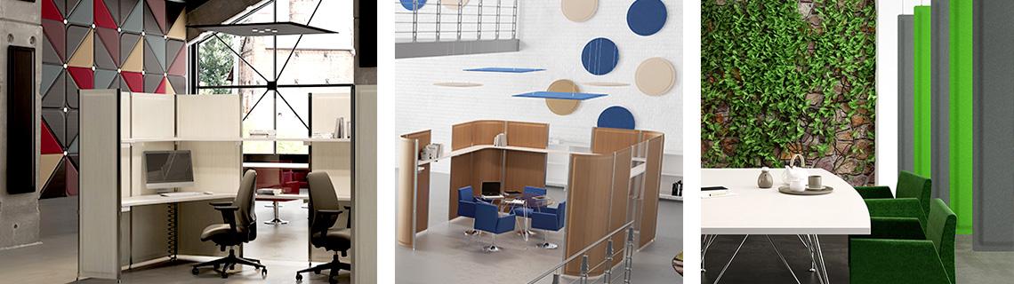 Panneaux acoustiques - concilier correction acoustique et décoration d'intérieur