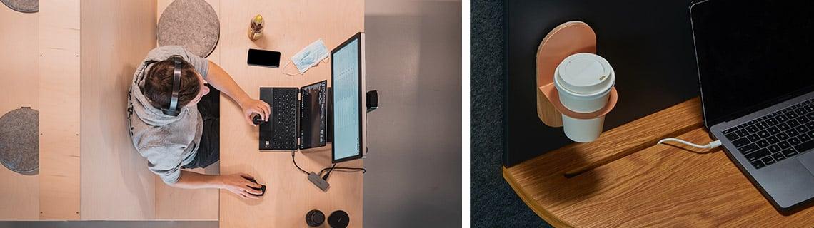 aménagement d'un bureau pour le télétravail